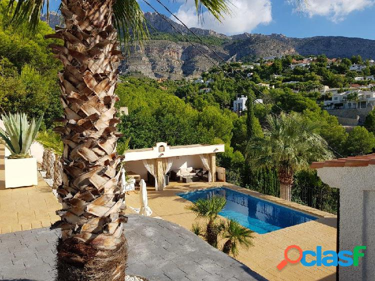 Chalet independiente en sierra de altea