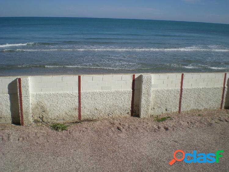 Apartamento primera línea de arenales, vistas al mar