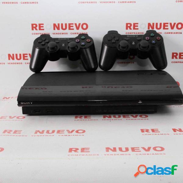 Consola ps3 500gb + 2 mandos de segunda mano e296461