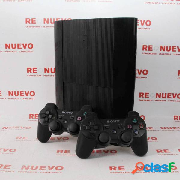 Consola Ps3 500GB + 2 Mandos de segunda mano E296461 1