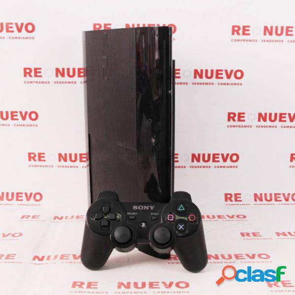 Consola PS3 SuperSlim de 500 GB + Mando de segunda mano E294699 1