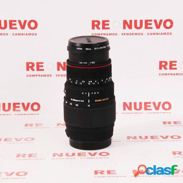 Objetivo sigma 70-300mm f4-5,6 apo dg macro canon e295455