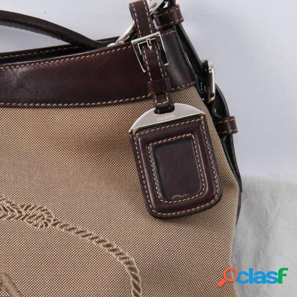 Bolso de hombro PRADA MILANO de segunda mano E298056 2