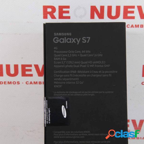 SAMSUNG GALAXY S7 de 32GB Gold Libre Nuevo Precintado E298723 1