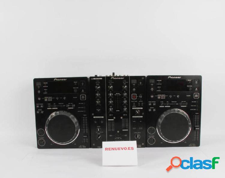 2 x pioneer cdj-350 + pioneer djm-350 de segunda mano e300733