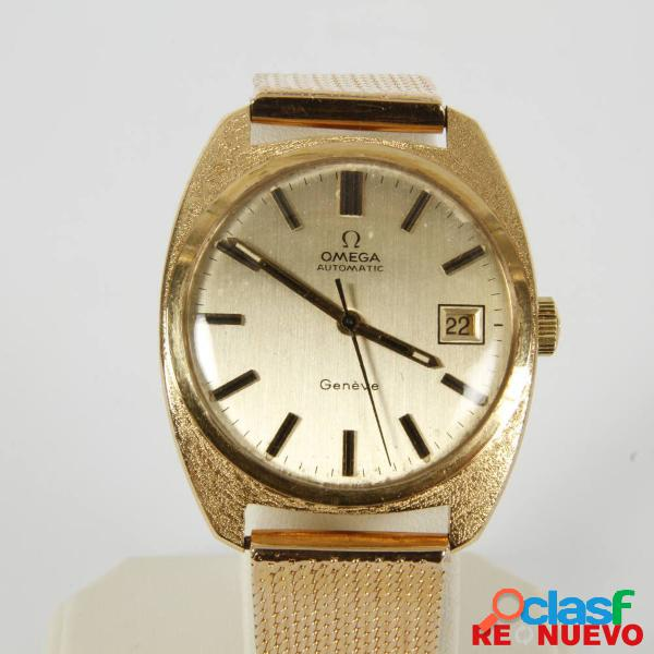 Reloj OMEGA GENÈVE 1482 automático de oro segunda mano E301036