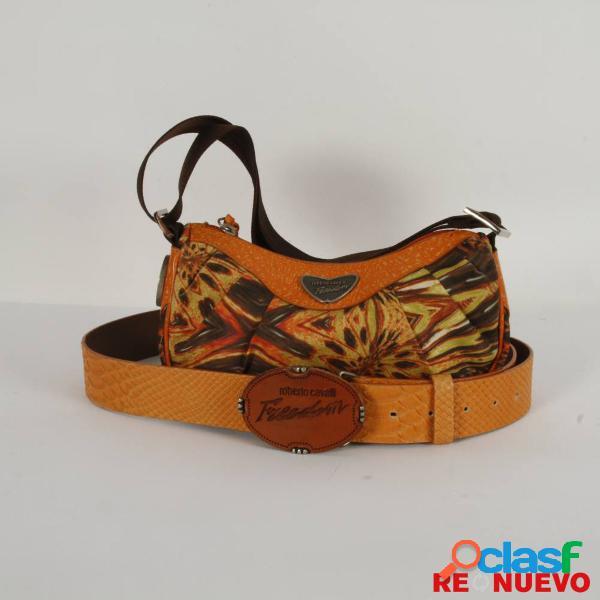 Conjunto Bolso y Cinturón ROBERTO CAVALLI de segunda mano E304825