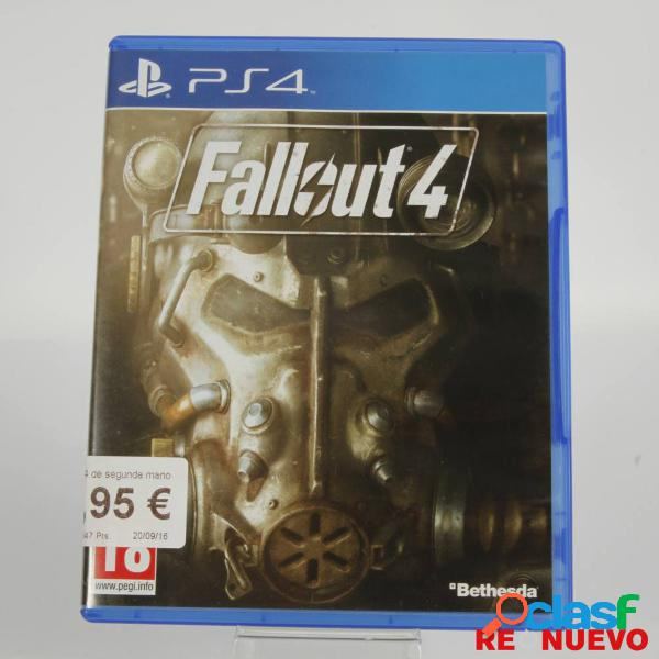 Videojuego fall out 4 para ps4 de segunda mano e305523