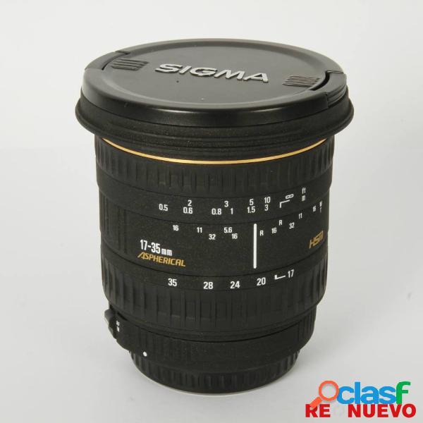 Objetivo sigma 17-35mm f2,8-4 hsm para canon segunda mano e306066