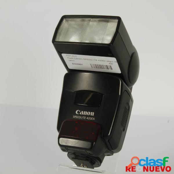 Flash canon speedlite 420ex segun da mano e306891