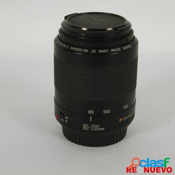 Objetivo canon 80-200 af f4,5-5,6 ii segunda mano e306438
