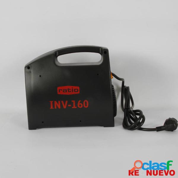 Soldador arco inverter ratio inv-160 nuevo e308192