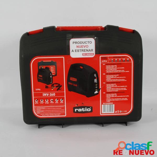 Soldador Arco INVERTER RATIO INV-160 NUEVO E308192 2