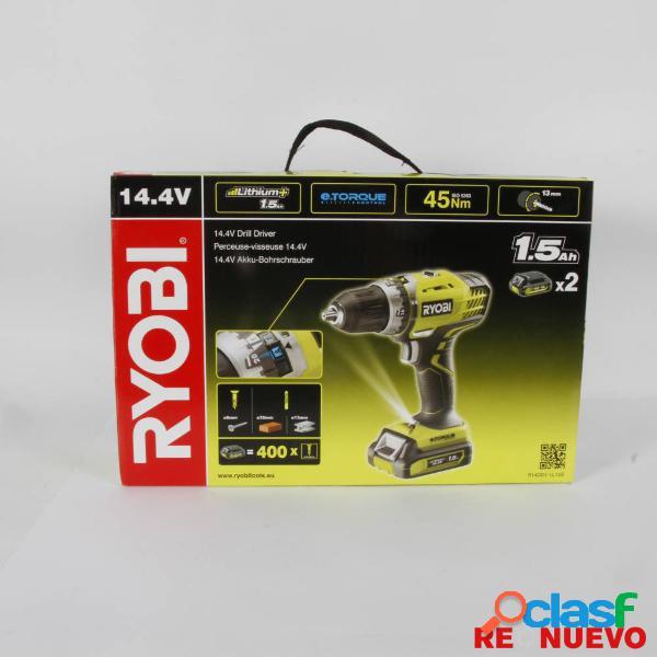Taladro/atornillador ryobi r14dde-ll15s nuevo precintado e308582