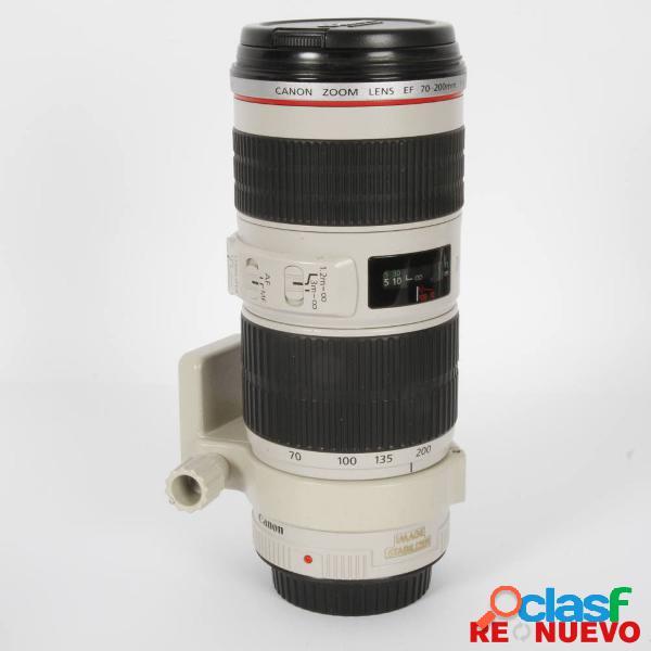 Objetivo canon 70-200mm f4 l is usm de segunda mano e308763