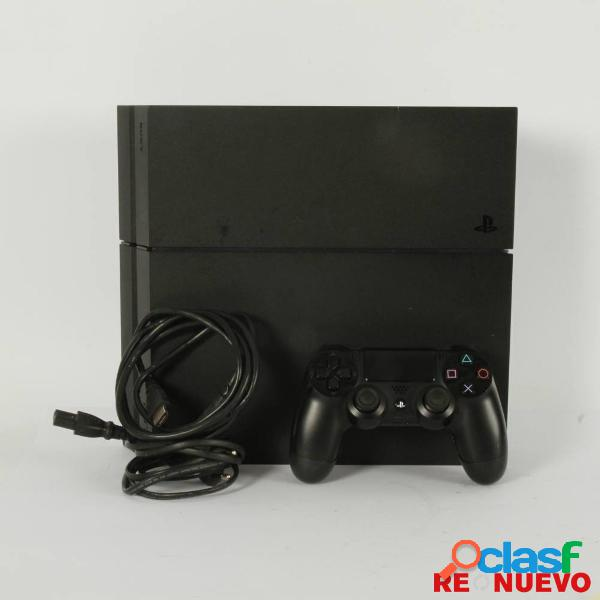 Consola PS4 de 500GB color NEGRO de segunda mano E309051 2