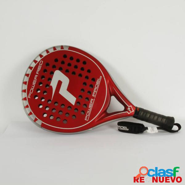 Raqueta padel POWER PADEL RED de segunda mano E309236 1