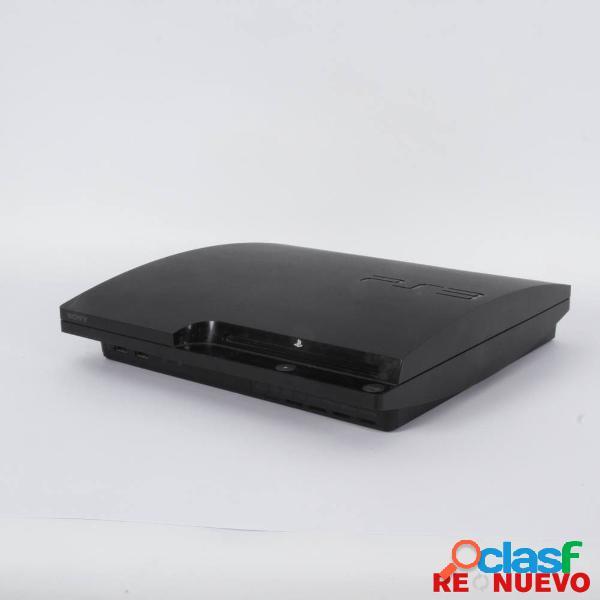 Consola ps3 slim de 120 gb + juego de segunda mano e309562