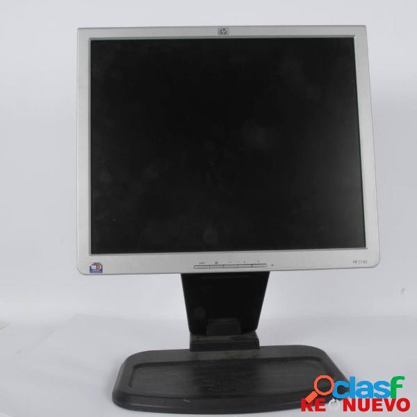 Monitor de 17'' hp 740 de segunda mano e309561