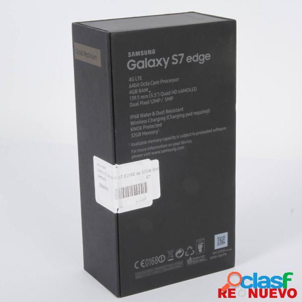 SAMSUNG GALAXY S7 EDGE de 32GB Gold Nuevo Desprecintado E309573 1