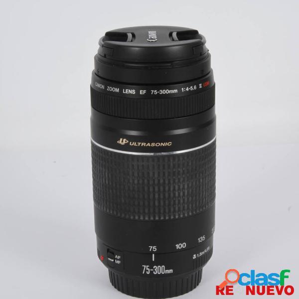 Objetivo canon 75-300 f/1:4-5.6 iii usm e309810