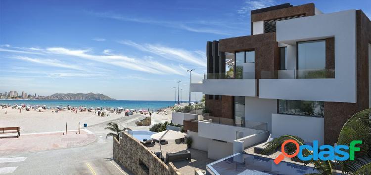 Lujosos apartamentos en primera línea de playa en venta, benidorm por gh - costa blanca