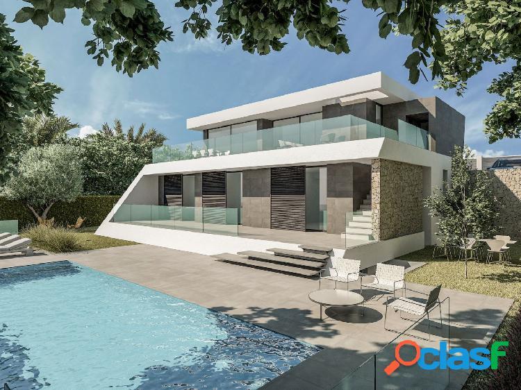 Nueva villa moderna en moraira con bonitas vistas al mar y a las montañas