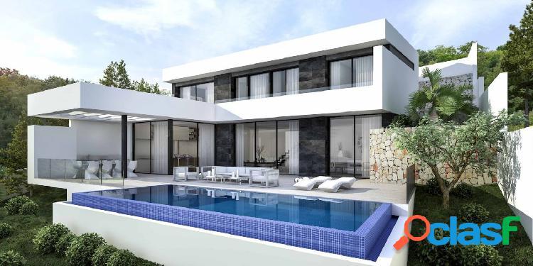 Proyecto: villa de estilo moderno en la costa de moraira con bonitas vistas