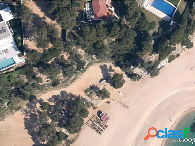 Parcelas en la playa de sa conca s'agaro con vistas panorámicas al mar