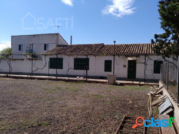 Finca agrícola de regadío (9 ha de regadío +2 de secano y pastos) con casa, piscina y zona de recreo