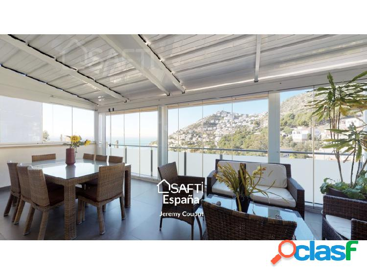 Prestigiosa villa 5 dormitorios piscina vista mar