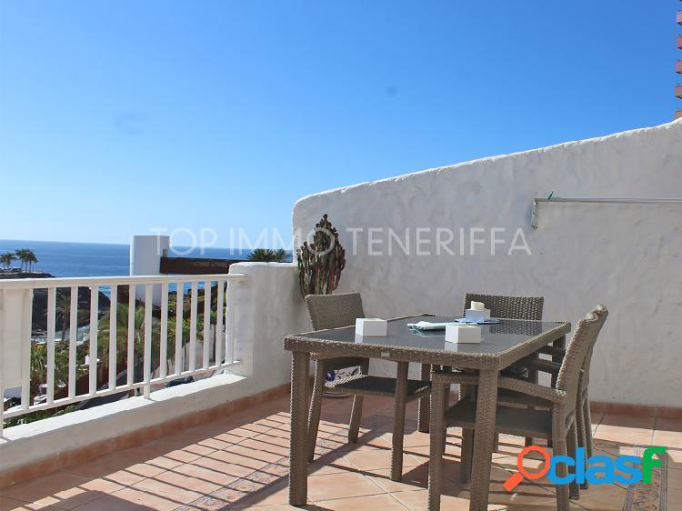 Estupendo apartamento con vista mar en playa paraiso