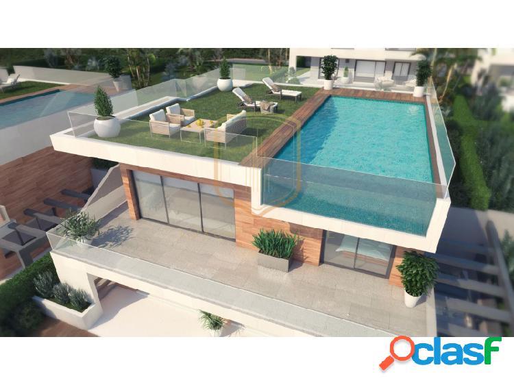 Villas en excelente ubicación de nueva construcción