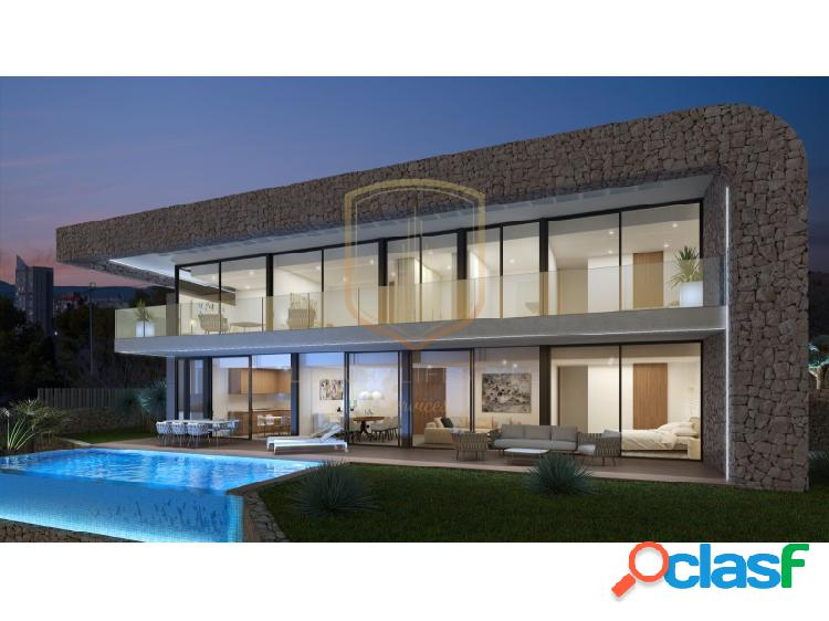 Nuevo proyecto villa de lujo en benidorm