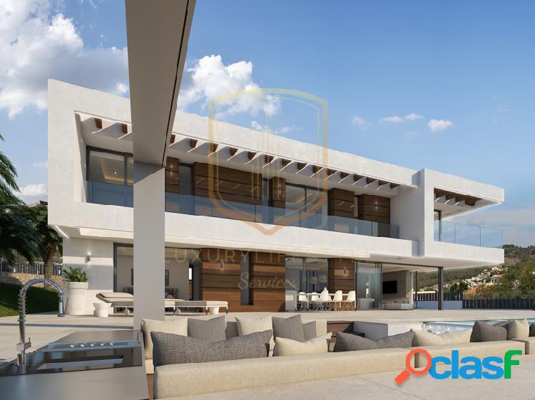 Villa moderna de lujo de impresionantes vistas