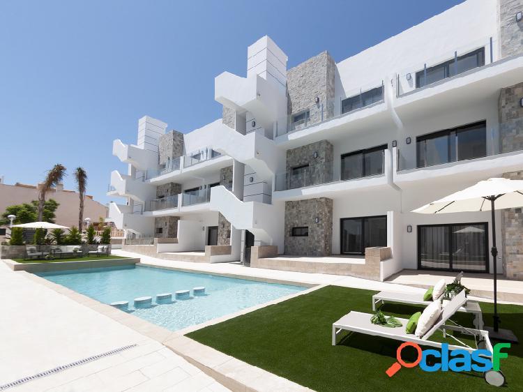 Apartamentos a estrenar en la playa arenales del sol