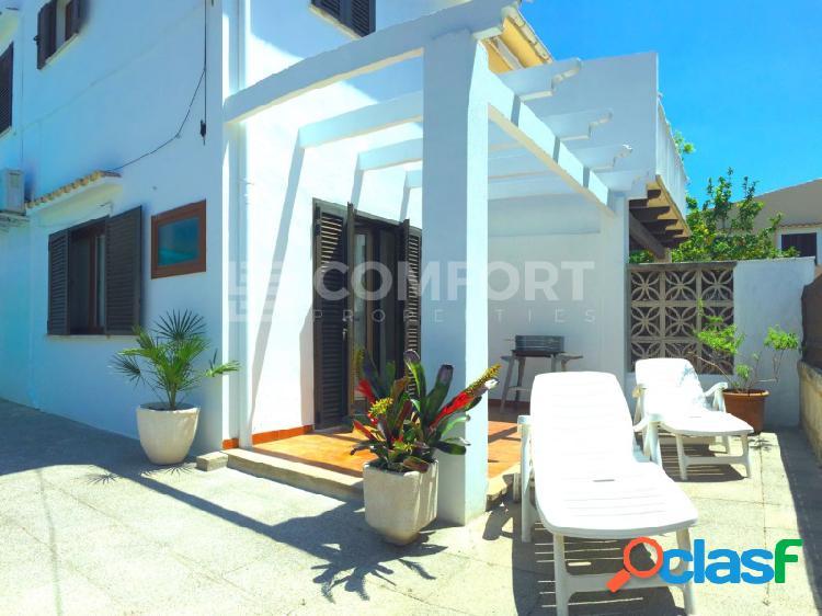 Chalet pareado con licencia turística en puerto de alcudia