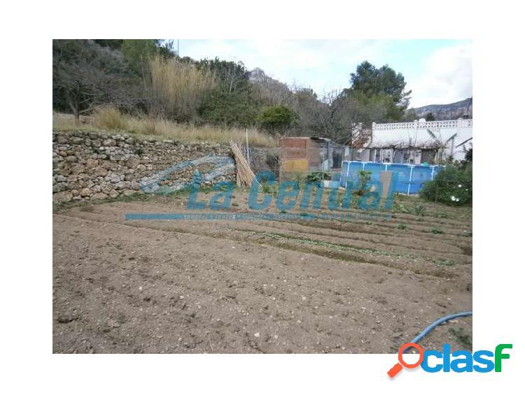 Casa con huerto en venta en la sénia. ref. inmobiliaria 10996