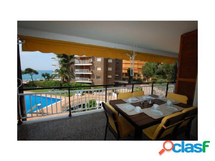 Estupendo apartamento, 2 dormitorios, licencia alquiler turístico hut. primera línea, vistas al mar, lloret de mar, fenals