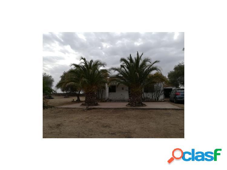 Finca rústica con casa situada en aldea del cano.