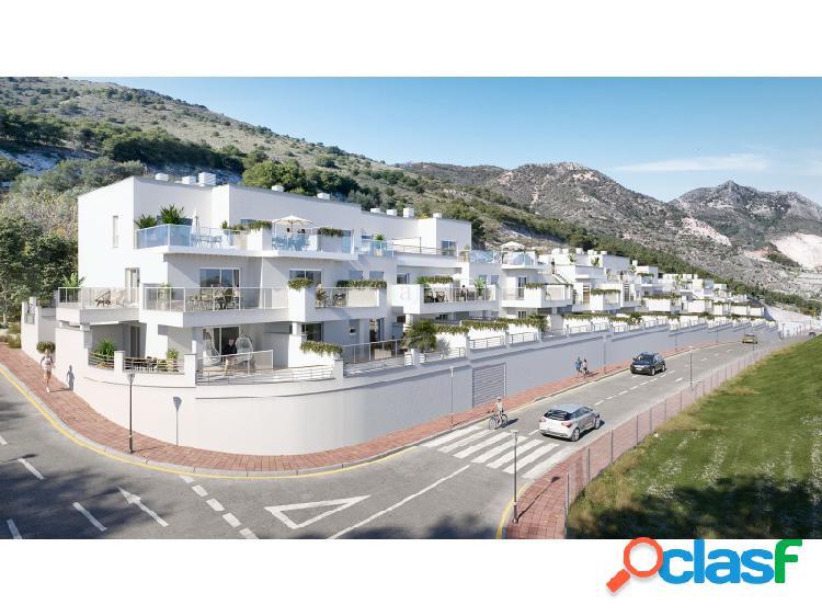 Apartamento situado en un entorno muy tranquilo del pueblo de Benalmádena