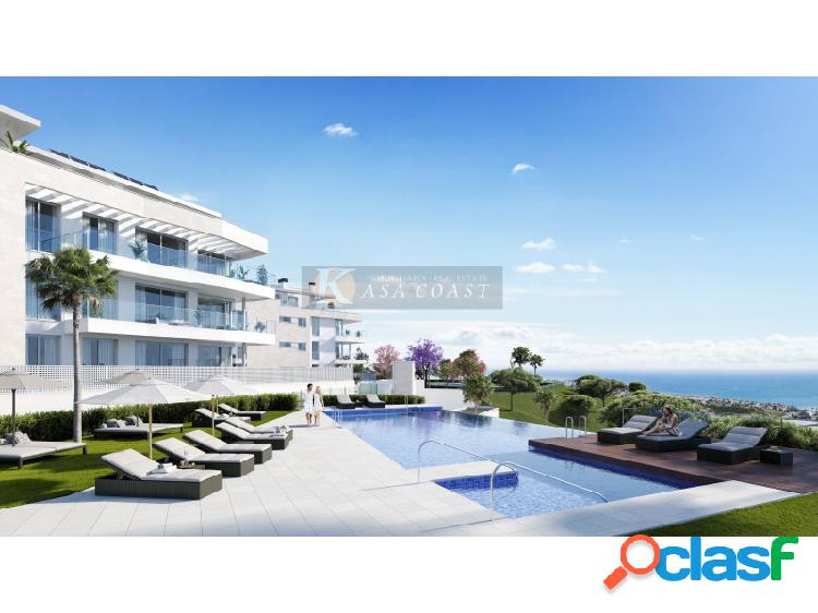 Promoción de pisos en venta en construcción en el chaparral, mijas costa.