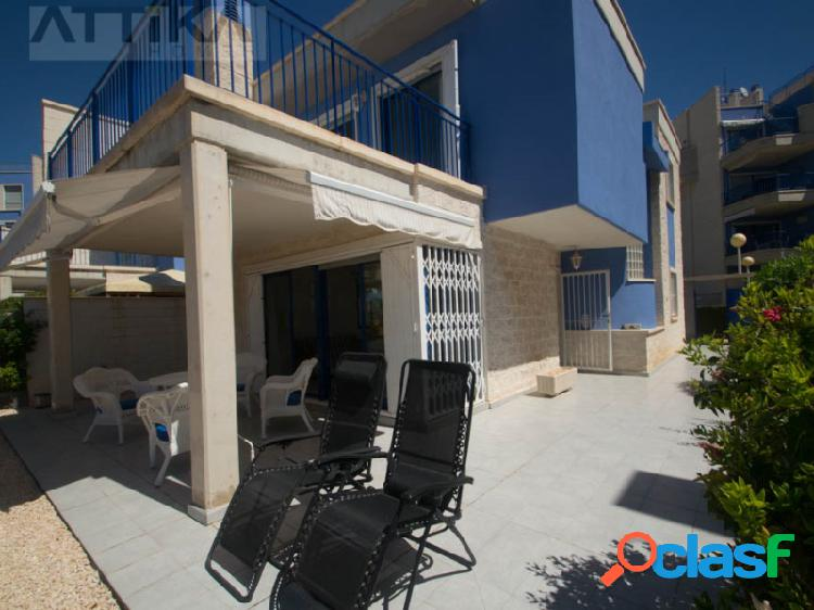 Chalet independiente, urb privada, cabo roig