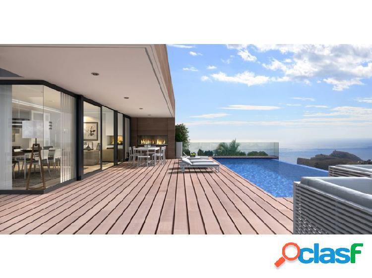 Ewe - espectacular villa de diseño moderno situada en cumbre del sol, benitachell