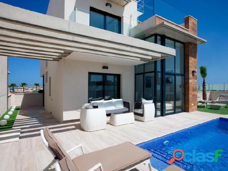 Ewe - villas con piscina privada, solárium y vistas al mar en cabo roig
