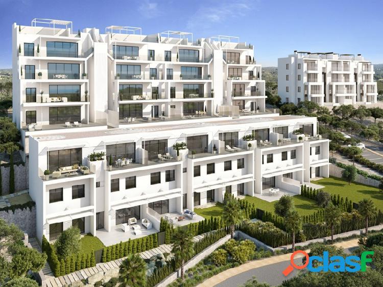 Ewe - atico duplex situado en el prestigioso residencial de las colinas golf, orihuela costa