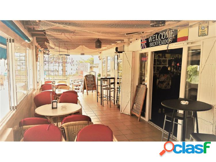 Bar restaurante en cala ferrera