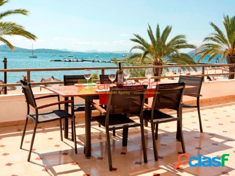 Apartamento en Primera linea del Puerto de Pollensa, Mallorca.