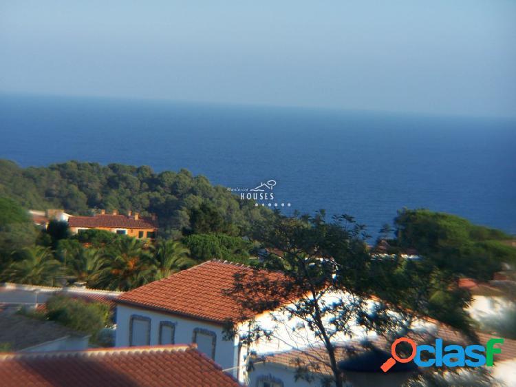 Casa de 2 habitaciones para vacaciones en lloret de mar, vistas al mar, costa brava sud ref.0018