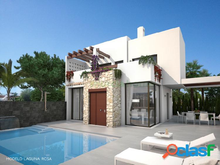 Villas de lujo en playa honda con piscina